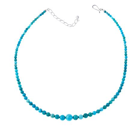 "Jay King Azure Peaks Turquoise 20"" Necklace"