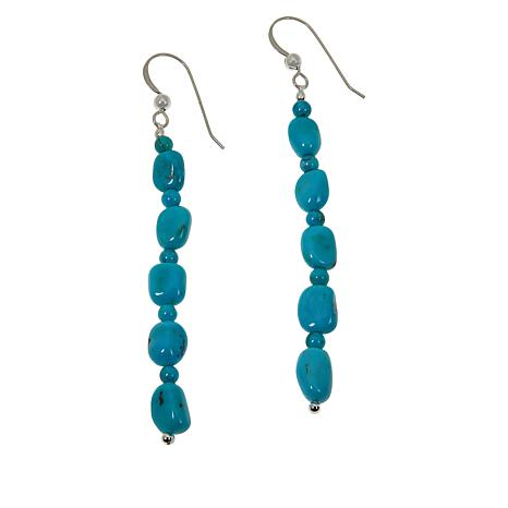 Jay King Azure Peaks Turquoise Dangle Earrings