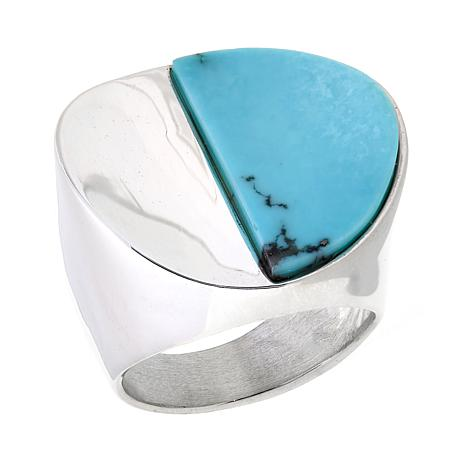 Jay King Contemporary Campitos Turquoise Ring