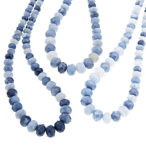 Image result for jay king blue opal necklace hsn