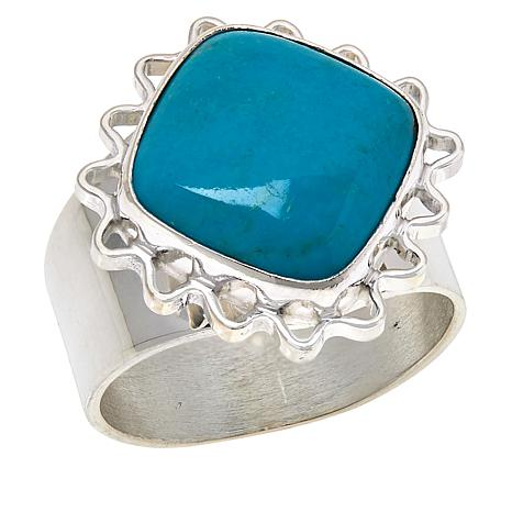 Jay King Gallery Collection Angel Peal Turquoise Ring