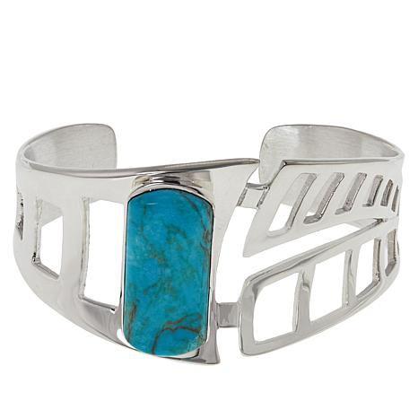 Jay King Gallery Collection Red Skin Turquoise Cuff Bracelet