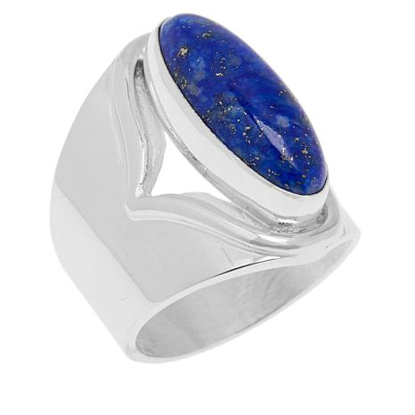 Jay King Gallery Collection Sterling Silver Lapis Ring