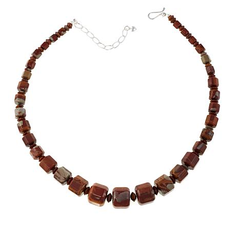 "Jay King Noreena Jasper Graduated Bead 18"" Necklace"