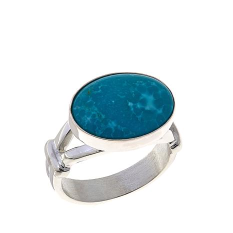 Jay King Oval Sonoran Blue Turquoise Ring