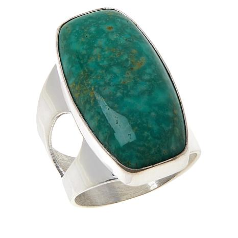 Jay King Sterling Silver Alicia Turquoise Ring