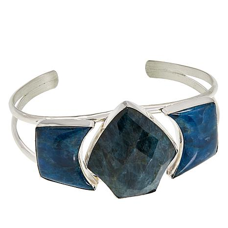 Jay King Sterling Silver Apatite Cuff