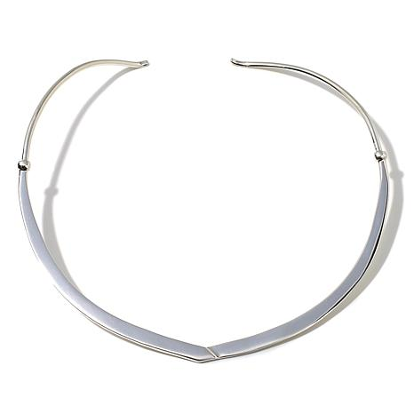 Jay King Sterling Silver Collar Necklace