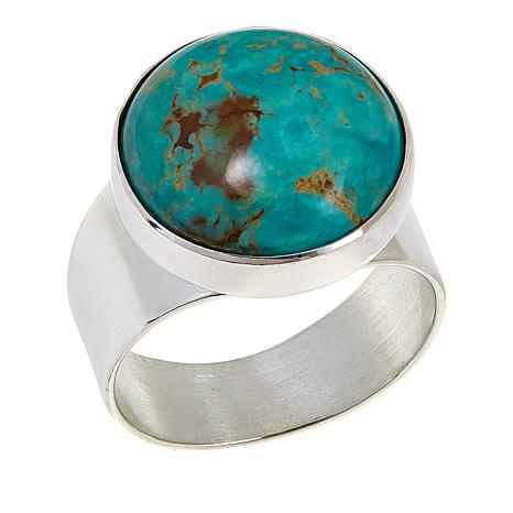 Jay King Tyrone Turquoise Sterling Silver Ring