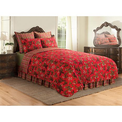 Jeffrey Banks Kellyn Holiday Quilt - Twin