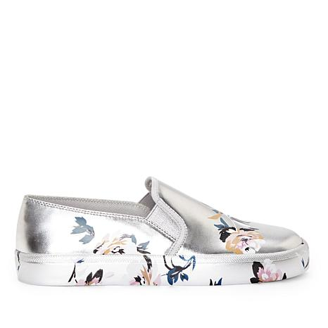 Dinellia Floral Print Slip-On Sneakers T2NCPpbQa