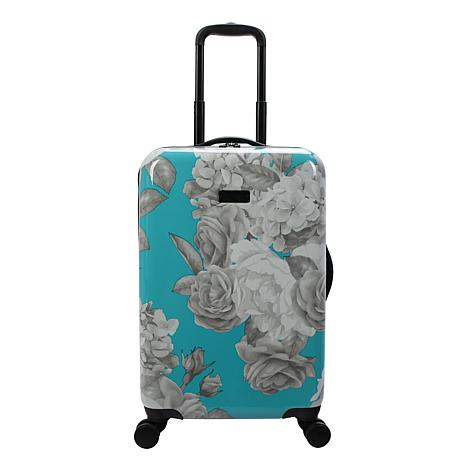 Jessica Simpson English Rose 20-inch Hardside Spinner in Turquoise