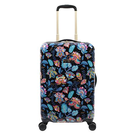 Jessica Simpson Floral Paisley 20-inch Hardside Spinner in Multi Bl...
