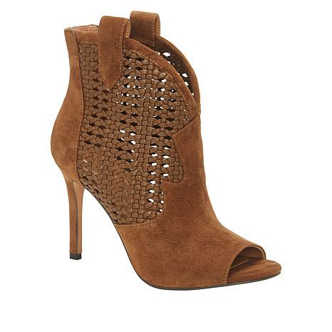 Jessica Simpson Jexell Leather Peep-Toe