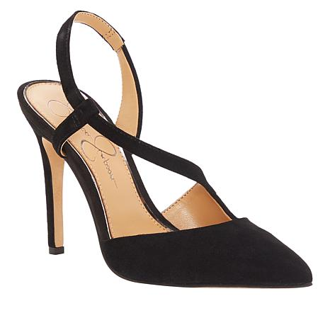 Jessica Simpson Paselle Suede Pointed-Toe Pump