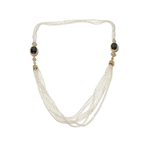"Joan Boyce ""Beaded Brilliance"" Convertible Necklace"