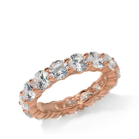 "Joan Boyce"" Joan's Jeweled Eternity Band"" Ring"