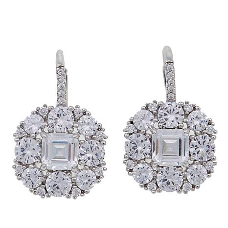 Joan Boyce Marisa S Royal Wedding 10 34ctw Cz Clear Drop Earrings