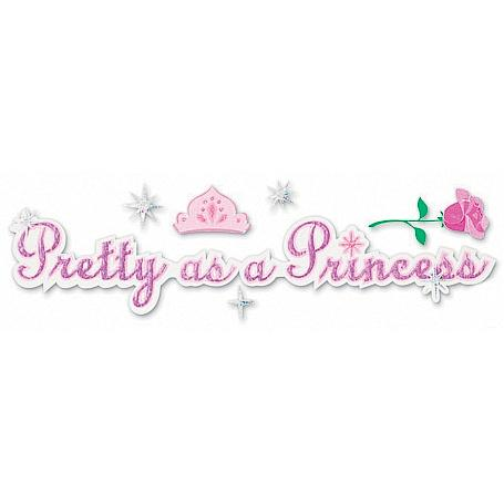 Jolee's Disney® Title Sticker - Pretty As A Princess