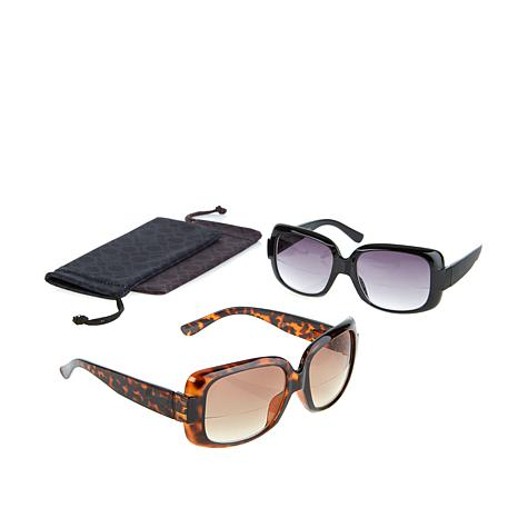 JOY 4-piece SHADES Reader Oversized Bifocal Sunglasses