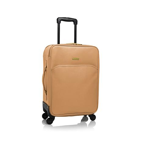 JOY & IMAN Genuine Leather Luxury City Carry-On Dresser