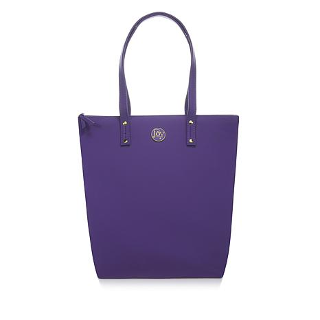 JOY Chic Lightweight Leather Tote with RFID Protection
