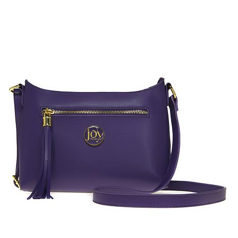 db81d03c81fc JOY E Lite Couture Genuine Leather Crossbody with RFID - 8638651