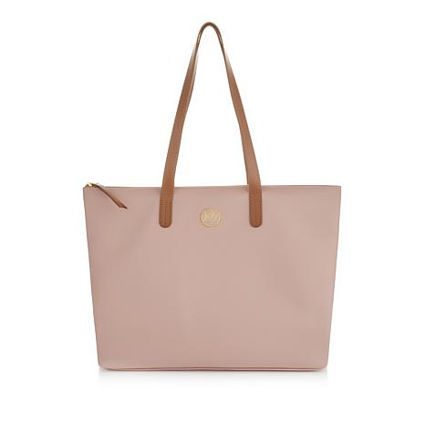 JOY Lightweight Leather Tote with RFID Protection