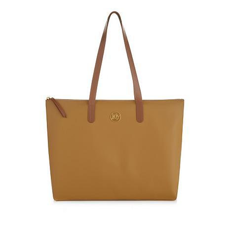 JOY Luxe Genuine Leather Handbag, Chic Crossbody with Shopper Tote -  8699352   HSN f617c08555