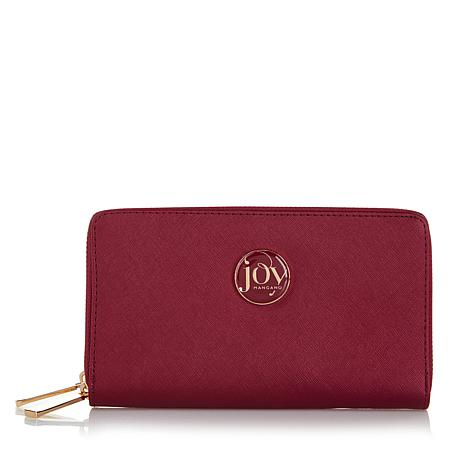 JOY Metallic E*Lite Leather Wallet with RFID Protection