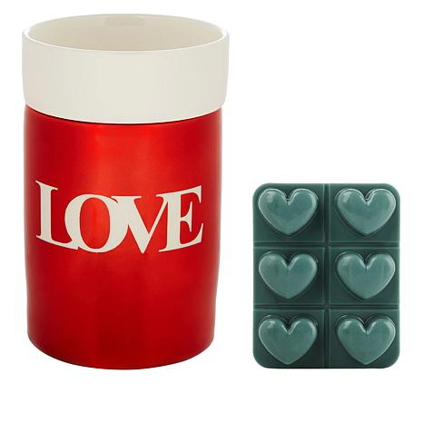 JOY Sentiments Forever Fragrant® Wax Warmer with 6pk Heartmelts