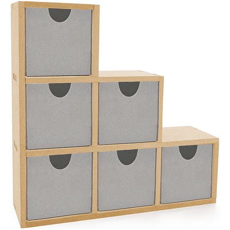 """Kaisercraft """"Beyond the Page"""" MDF Bookend Drawers"""