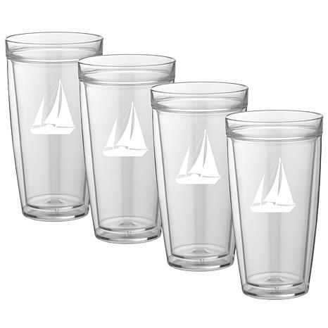Kasualware™ 22oz. Doublewall Tall Drinking Glasses