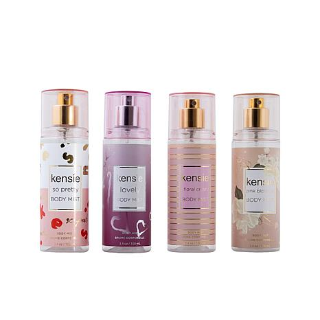 Kenise Body Mist Coffret 4-pack