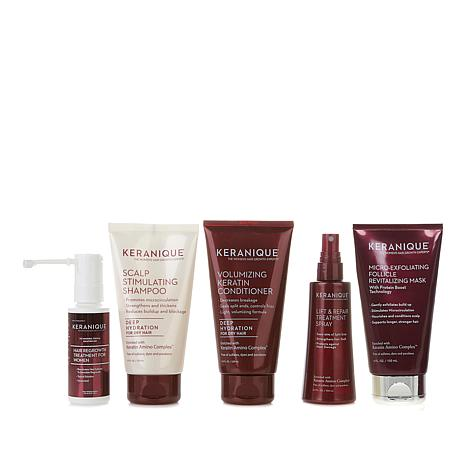 Keranique 30-Day Regrowth Kit with Exfoliating Mask