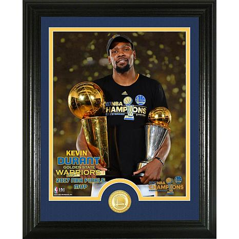 """Kevin Durant 2017 NBA Finals """"Trophy"""" Single Coin Photo"""