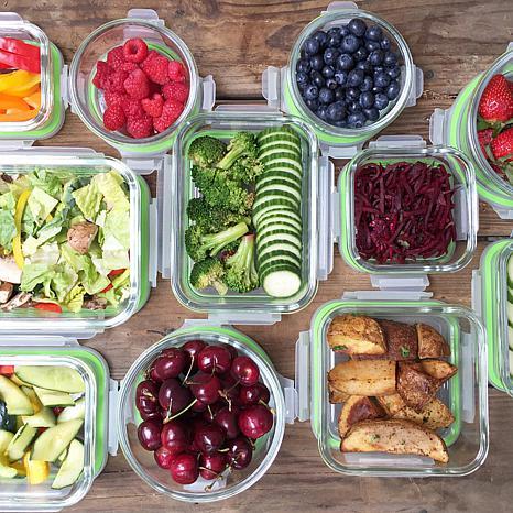 Awesome ... Kinetic Glassworks 36pc Glass Food Storage Set ...