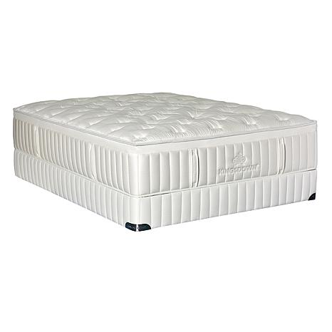 Kingsdown Vintage Melange Firm Hybrid Plush Mattress Set - Twin