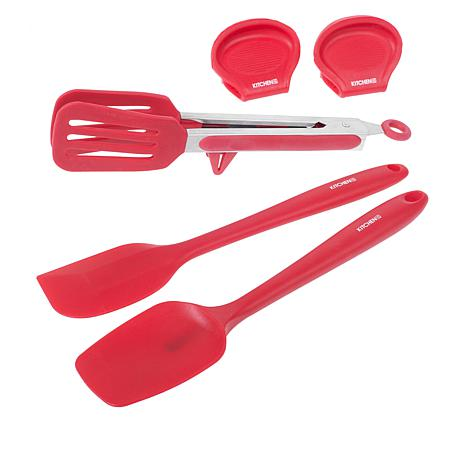 Kitchen HQ 5-piece Silicone Kitchen Tool Set