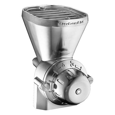 Kitchenaid 174 All Metal Grain Mill Attachment 8790034 Hsn
