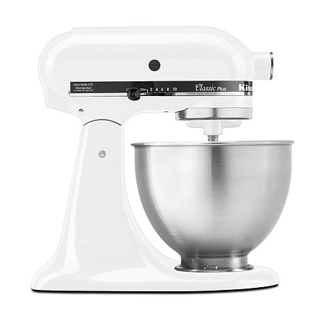 899800170f2 KitchenAid Classic Plus Series 4.5 Quart Tilt-Head Stand Mixer - 8702929