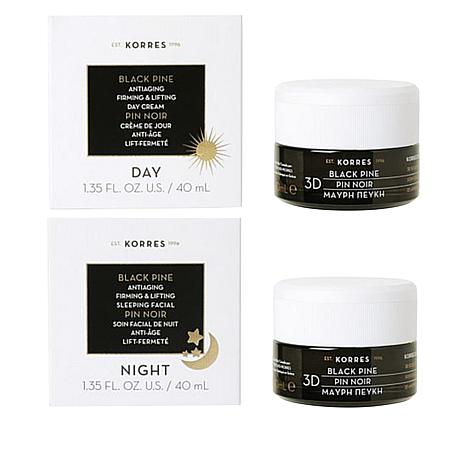 Korres Black Pine 3D Firming & Lifting Day and Night Duo for the Face