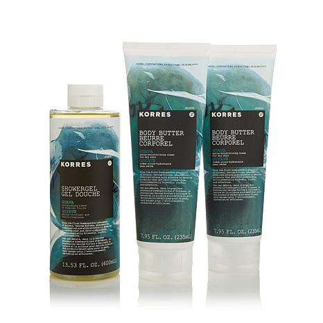 Korres Guava 3-piece Bath & Body Set AS