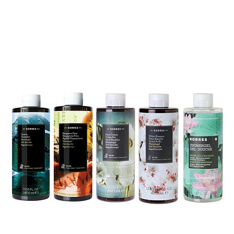 Korres Jumbo Shower Gel 5-piece Collection