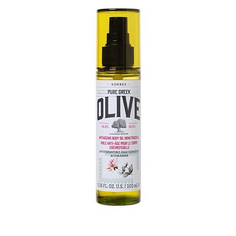 Korres Pure Greek Olive Oil & Honeysuckle Anti-Aging Body Oil