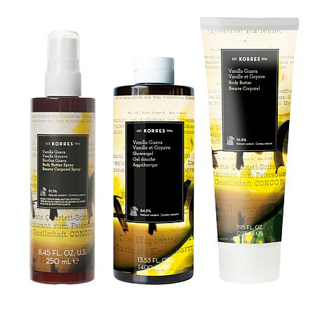 Korres Vanilla Guava Smoothing & Anti-Aging 3pc Collection