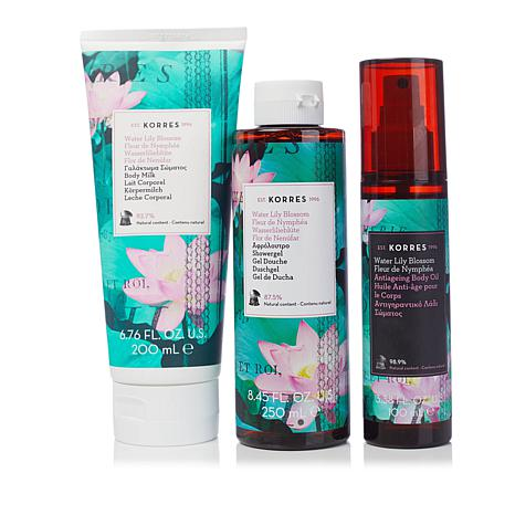 Korres Anti-Aging Bath and Body Trios