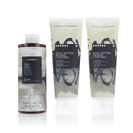 Korres Yoghurt 3-piece Bath & Body Collection AS