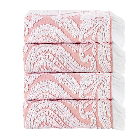 Laina Turkish Cotton 4-piece Bath Towel Set