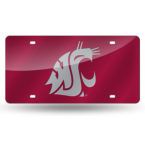 Laser Tag License Plate - Washington State University